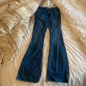 Free People flare jeans 24